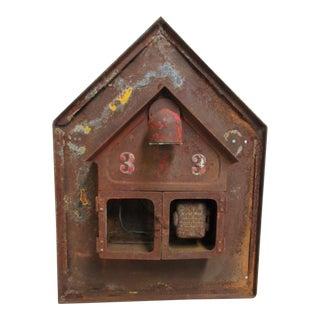 Antique Original Fire Alarm Call Edward Box