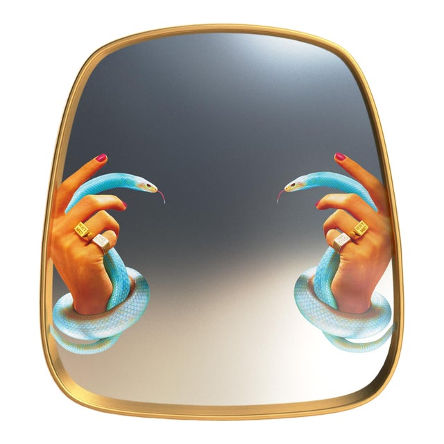 Maurizio Cattelan Seletti, Hands With Snakes Mirror, Toiletpaper, 2018 For Sale - Image 4 of 4