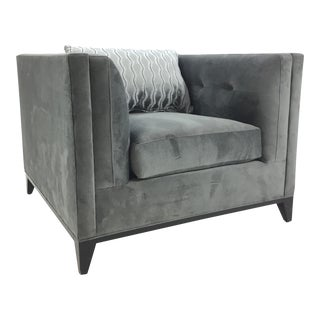 Caracole Gray Grace Chair For Sale