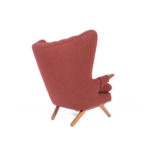 Svend Skipper Model 91 Burgundy Lounge Chair - Image 3 of 10