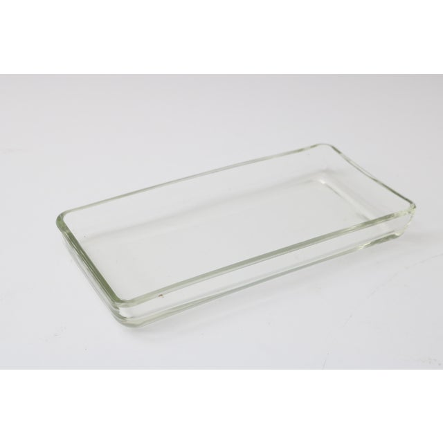 William Higgins Artisan Blue & Green Glass Box For Sale - Image 4 of 7