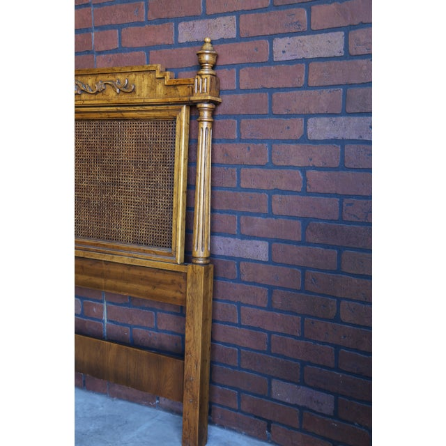 20th Century French Regency Cane King/Cal King Headboard For Sale - Image 6 of 8