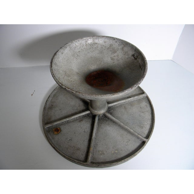 Industrial 20th Century Industrial Fred Bauer Cake Stand For Sale - Image 3 of 6
