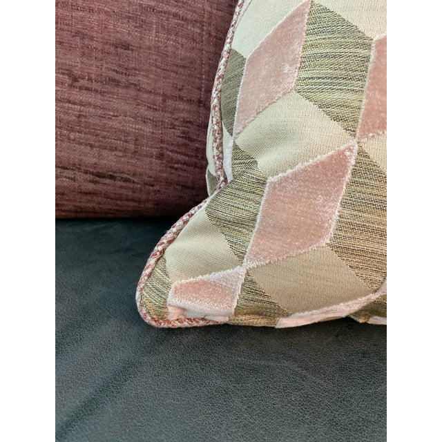 Contemporary Manuel Canovas Vallauris Rose Pillow For Sale - Image 3 of 6
