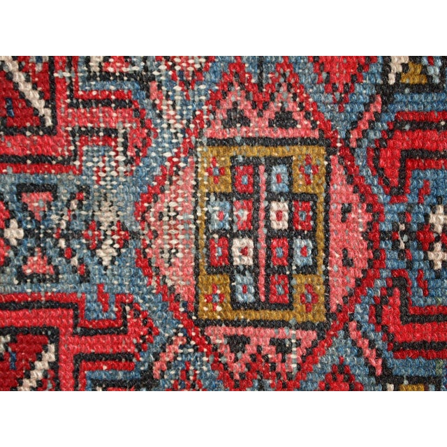 1920s Handmade Antique Persian Karajeh Runner - 3.5' X 10.8' - Image 4 of 10