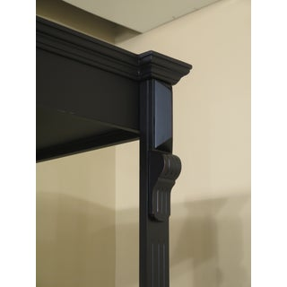Black Lighted Open Display Curio Shelf Preview