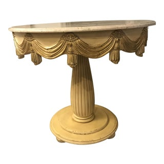Vintage Center Hall Table