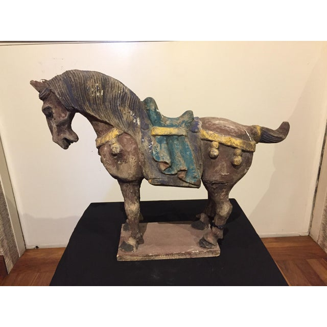 Chinese Antique Horse Sculpture - Image 3 of 7