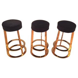 Worlds Away Samson Bar Stools - Set of 3
