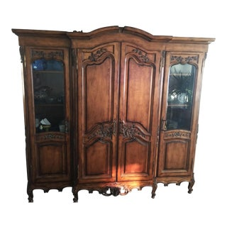 Traditional Cherry Armoire For Sale