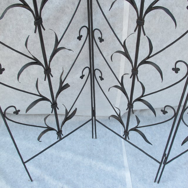 Early 20th-C. Wrought Iron Screen - Image 4 of 9