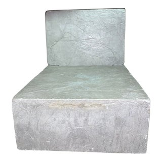 Concrete Lounge Chair For Sale