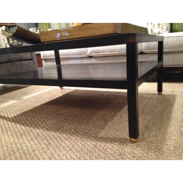"Modern Black ""Morris"" Coffee Table - Image 3 of 7"