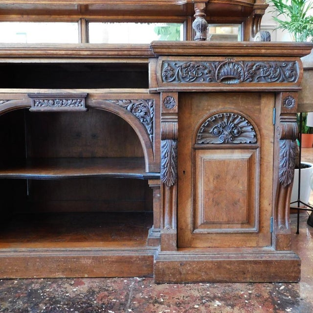 Empire Early 20th Antique European Hutch For Sale - Image 3 of 10