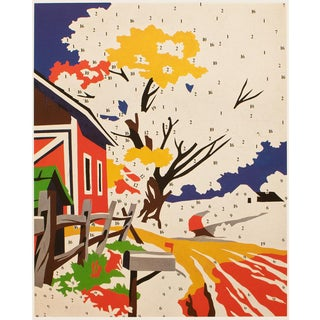 """1993 Andy Warhol """"Do It Yourself (Landscape) 1962"""", Pop Art Lithograph For Sale"""