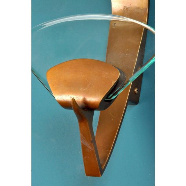 1960s Glamorous Coat Hook by Fontana Arte, Milan, Italy For Sale - Image 5 of 8