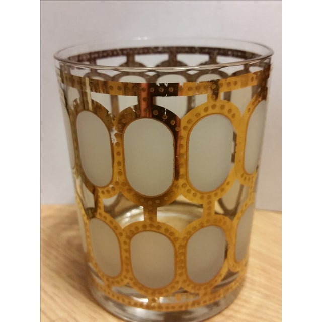 Cera Glass Old Fashioned Tumblers - Set of 4 - Image 2 of 8