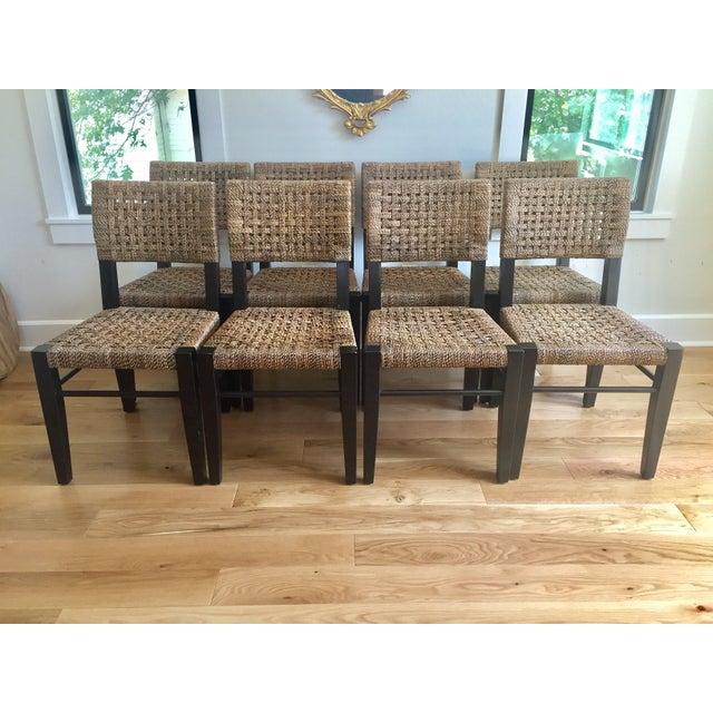 Palecek Panamawood Dining Chair - Set of 8 - Image 2 of 9