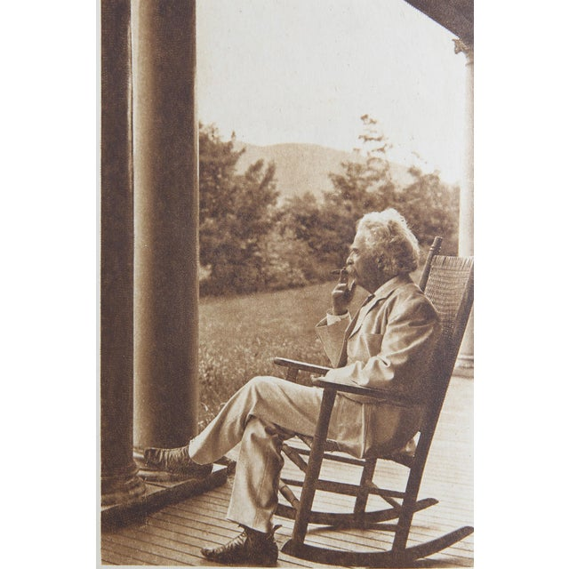Mark Twain's Autobiography 2 Vols. New York: Harper & Brothers, 1924. 2 vols. First Edition. 733 pages. Hardcover. Deckled...