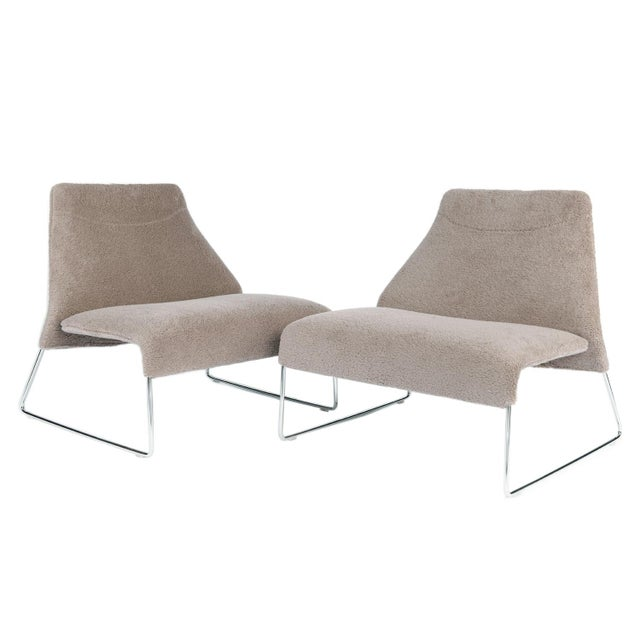 Lazy '05 armchair by B&B Italia Designed by Patricia Urquiola for B & B Italia, Lazy '05 features a large seat and...