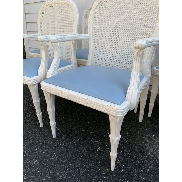 Serge Roche Style Dining Chairs - Set of 6 For Sale - Image 10 of 13