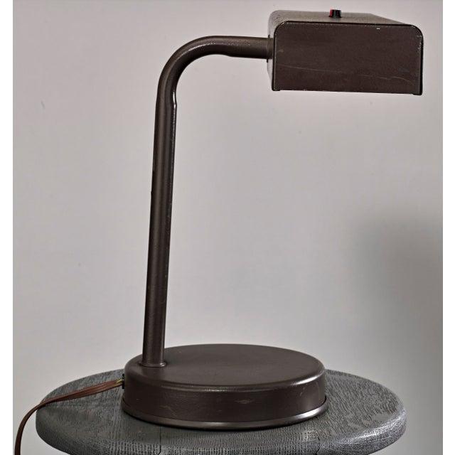 Industrial Vintage Mid Century Industrial Desk Lamp For Sale - Image 3 of 4