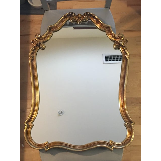 Gilded French Baroque Mirror - Image 2 of 8