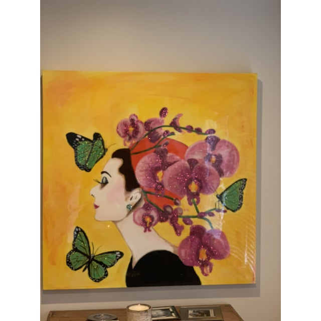 Ashley Longshore Original Painting For Sale - Image 4 of 4