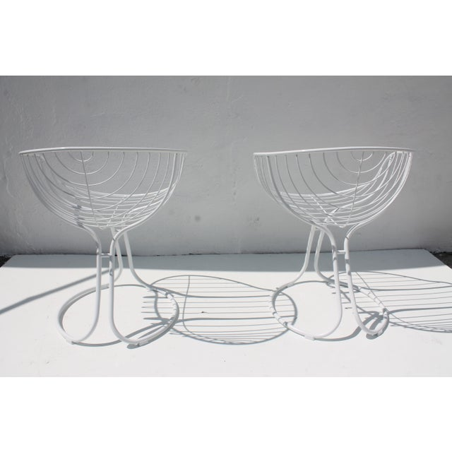 "Italian ""Pan Am"" Logo Chairs - A Pair - Image 6 of 11"