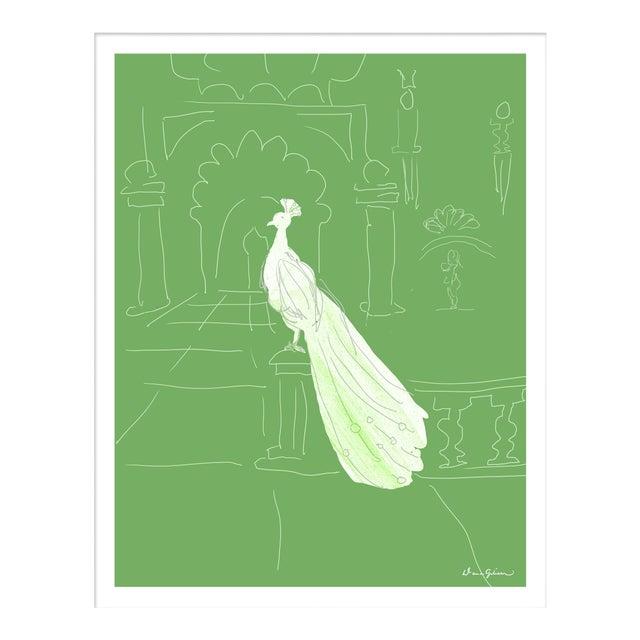 """""""Delhi in Green"""" By Dana Gibson, Framed Art Print For Sale"""