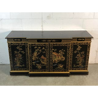 Drexel Furniture Asian Scene Lacquered Sideboard Preview