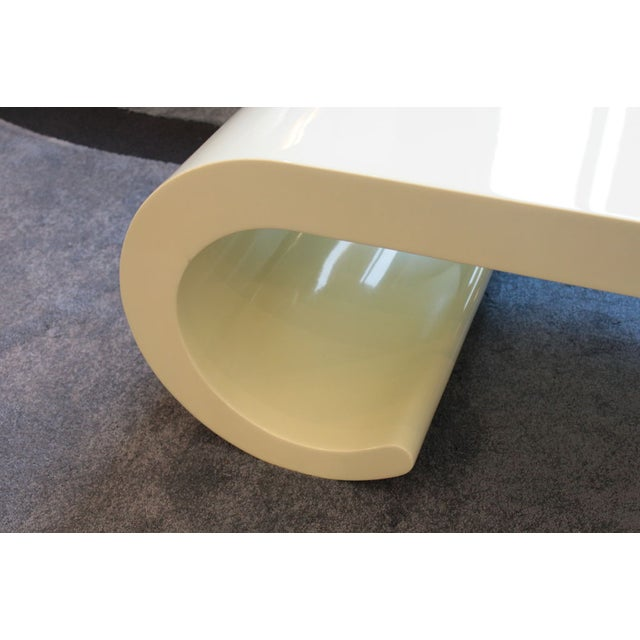 Soft Yellow Coffee Table - Image 3 of 4