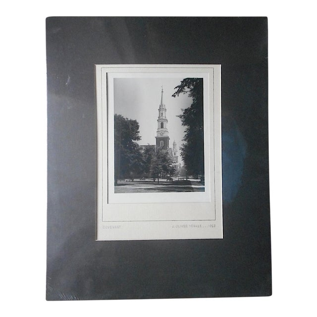 "Original Vintage Mid 20th Century Signed/Dated Ltd. Edition Fine Art Photograph-""Covenant""-J. Oliver Yeakle For Sale"