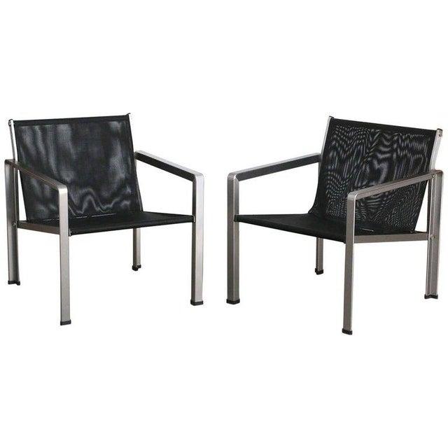 Giuseppe Raimondi Design Modern Aluminum Cube Chairs For Sale - Image 13 of 13