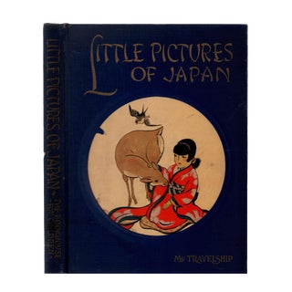 """1925 """"Little Pictures of Japan"""" Coffee Table Book For Sale"""