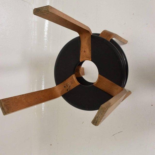Danish Modern Mid-Century Modern Pair of Vintage Donut Stools by Rud Thygesen & J Sorensen For Sale - Image 3 of 11