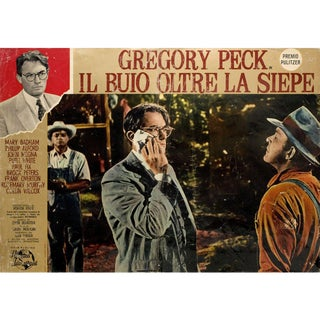 To Kill a Mockingbird 1963 Italian Fotobusta Film Poster For Sale
