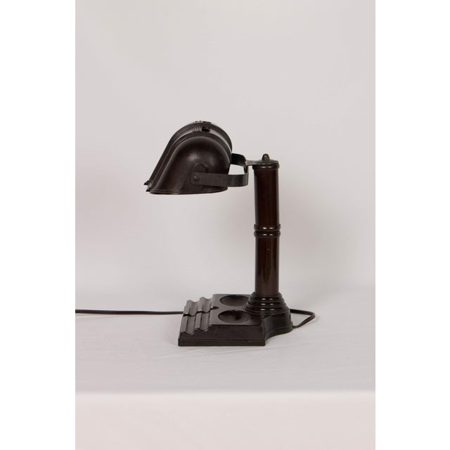 Art Deco Vintage Bakelite Desk Lamp For Sale - Image 3 of 7