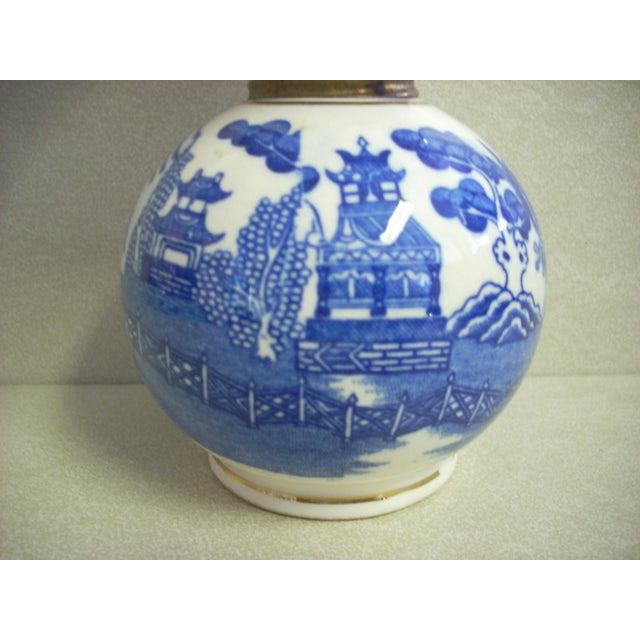 "Made in Japan by ""Arrow""; traditional Blue Willow pattern in a convenient small size; perfect for an al fresco dining..."