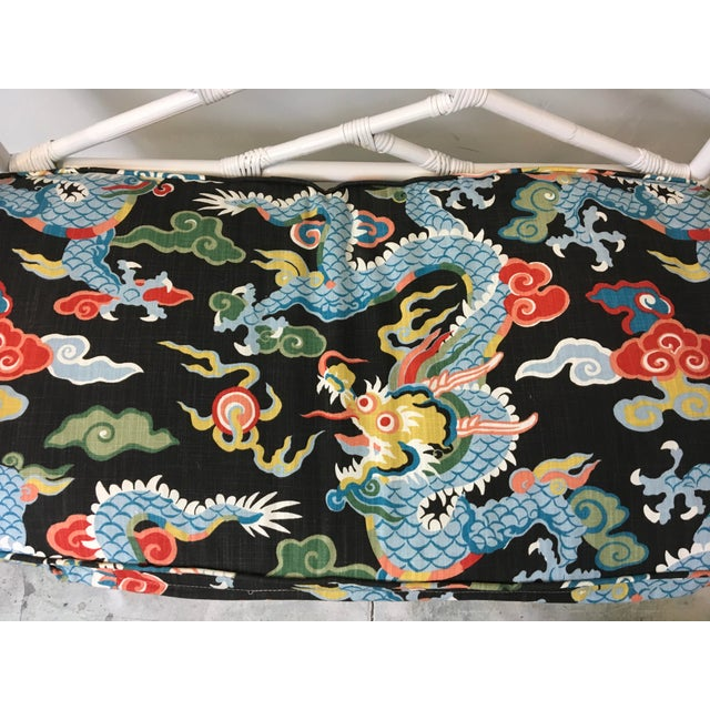 Chinese Chippendale Style Settee For Sale In Atlanta - Image 6 of 6