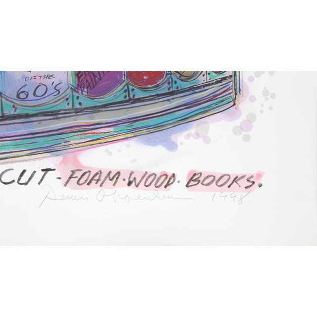 Artist: Dennis Oppenheim, American (1938 - 2011) Title: Study for Uppercut Year: 1998 Medium: Lithograph, signed and...