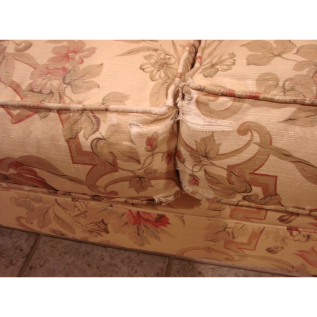 George Smith Scroll Arm Signature Sofa For Sale In New York - Image 6 of 7