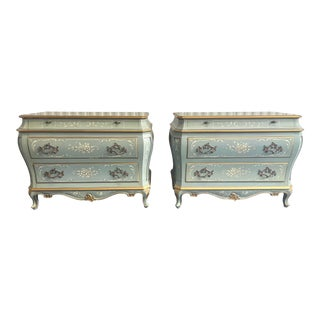 20th Century Karges Venetian Commodes - a Pair For Sale