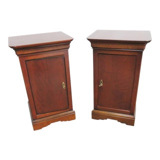 Grange French Cherry Nightstands - a Pair For Sale