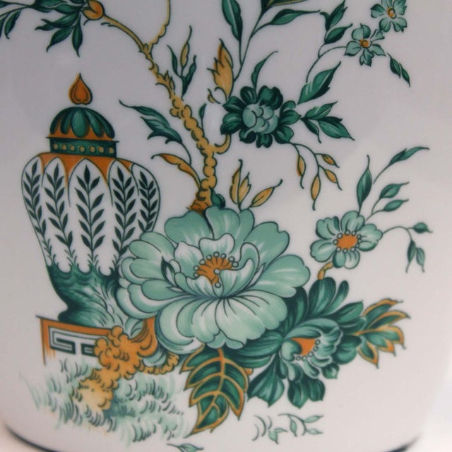 """A fine bone China, Crown Staffordshire """"Kowloon"""" Ginger Jar. Made in England."""