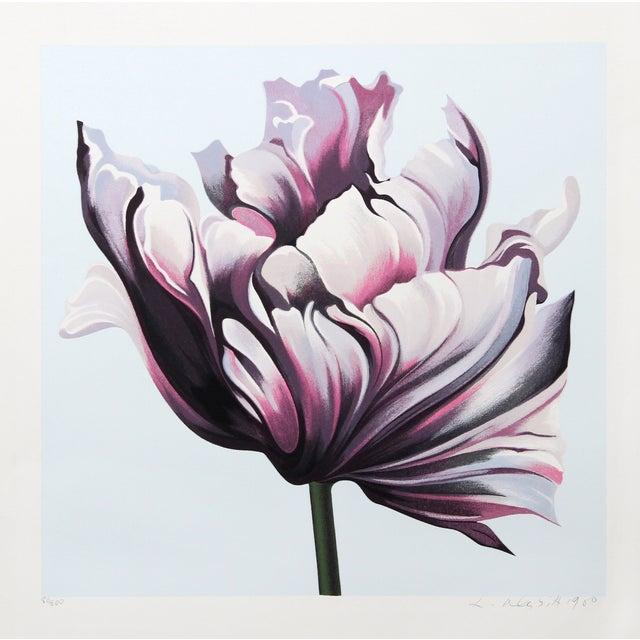 Lowell Blair Nesbitt 'Parrot Tulip III' Serigraph For Sale