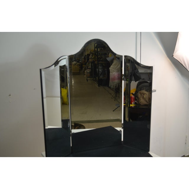 French Bungalow 5 Theresa Triptych Mirror For Sale - Image 3 of 6