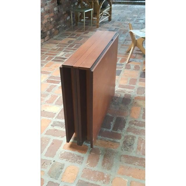 "Danish Modern Bruno Mathsson Gate-Leg ""Maria"" Table For Sale - Image 3 of 7"