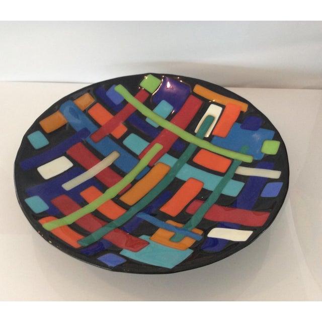 Post Modern Pence Cased Art Glass Bowl - Image 2 of 5