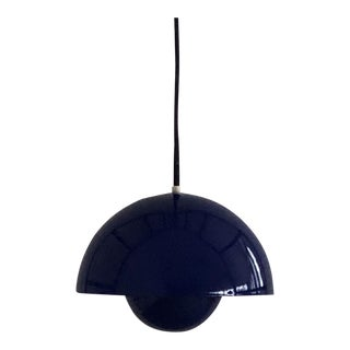 1970s Verner Panton Flowerpot Pendant Light for Louis Poulsen, Denmark For Sale